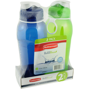 Rubbermaid 32 oz. Chug Bottle 2 pk.