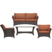 Hanover Strathmere Allure 4 pc. Lounging Set