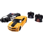 HyperChargers 1:16 Heat Chase Twin Pack RC
