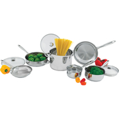 Wolfgang Puck Stainless Steel 10 pc. Cookware Set
