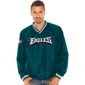 G-III Sports NFL Philadelphia Eagles Team Men's Stop and Go V Neck Pullover