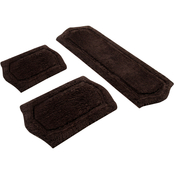 Chesapeake Paradise 3 Pc. Memory Foam Ivory Bath Rug Set 43260