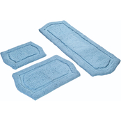 Chesapeake Marketing Paradise 3 Pc. Memory Foam  Bath Rug Set