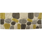 Chesapeake Pebbles Khaki Bath Rug Runner 45090 (24 x 60)