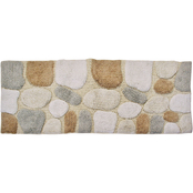 Chesapeake Merchandising Pebbles Bath Rug Runner