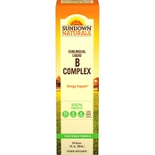 Sundown Naturals B12 Complex (Sublingual Liquid ) 2 Oz.