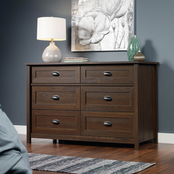 Sauder County Line 6 Drawer Dresser
