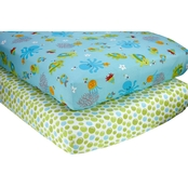 Little Bedding by NoJo Ocean Dreams Sheet Set 2 pk.