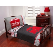 Carter's Fire Truck Toddlers 4 pc. Bedding Set