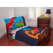 Carter's Prehistoric Pals Toddlers 4 pc. Bedding Set