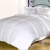 Blue Ridge 240 Thread Count Cover, White Goose Down and Feather Comforter