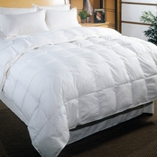 Blue Ridge 233 Thread Count Ctoon Cover, White Down Comforter