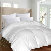 Blue Ridge 1000 Thread Count Egyptian Cotton Cover, Down-Alternative Comforter