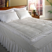 Blue Ridge 233 Thread Count Cotton Cover, 5 in. Featherbed