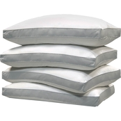 Blue Ridge Jumbo 1000 Thread Count Cotton Cover, Down-Alternative Pillows 4 pk.