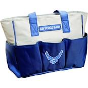 Trooper Clothing Air Force Logo Diaper Bag