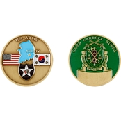 Challenge Coin Camp Carroll Military Police Coin