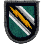 Army Unit Patch Flash 8th PSYOPS Group Insignia