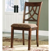 Signature Design by Ashley Leahlyn Dining Room Chair 2 Pk.
