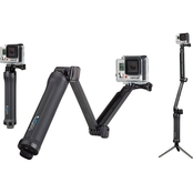 GoPro 3 Way Grip Arm Tripod Mount