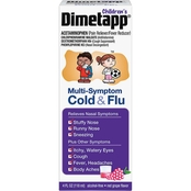 Dimetapp for Children Multi-Symptom Cold and Flu Medicine 4 oz.