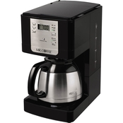 Mr. Coffee 8-Cup Thermal Coffeemaker, Stainless Steel