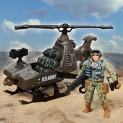Excite U.S. Army Helicopter Play Set