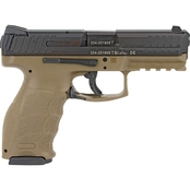 HK VP9 9MM 4.09 in. Barrel 15 Rds 2-Mags Pistol Black