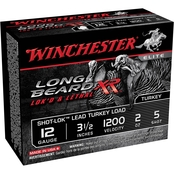 Winchester Long Beard XR 12 Ga. 3.5 in. Chamber #5, 2 oz. Shot-Lok w/Lead Shot, 10
