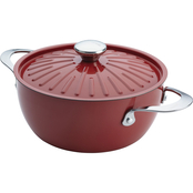 Rachael Ray Cucina Oven To Table Nonstick 4.5 qt. Covered Round Casserole