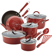 Rachael Ray Cucina Hard Enamel Nonstick 12 pc. Cookware Set