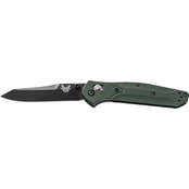 Benchmade Osborne 940BK Knife with Black Plain Edge