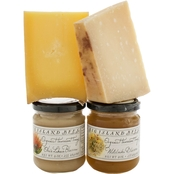 The Gourmet Market Raw Organic Cheese and Honey Collection
