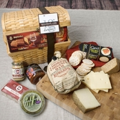 The Gourmet Market Family Gathering Gift Basket