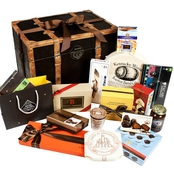 The Gourmet Market Chocolate Treasures of The World Gift Trunk