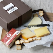 The Gourmet Market Chardonnay Cheese Assortment Gift Box