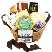 The Gourmet Market Gourmet Basket of Cheese