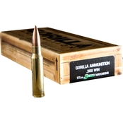 Gorilla Match .308 Win 175 Gr. Sierra MatchKing Boat Tail Hollow Point, 20 Rounds