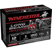Winchester Long Beard XR 12 Ga. 3 in. #5 1.75 oz. Shot-Lok with Lead Shot, 10 Rds.