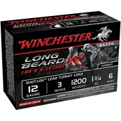 Winchester Long Beard XR 12 Ga. 3 in. #6 1.75 oz. Shot-Lok with Lead Shot, 10 Rds.