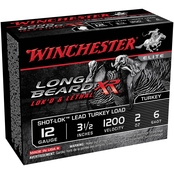 Winchester Long Beard XR 12 Ga. 3.5 in. #6 2 oz. Shot-Lok with Lead Shot, 10 Rds.