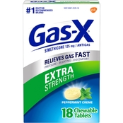 Gas-X Extra Strength Creme Chewable Tablet 18 pk.