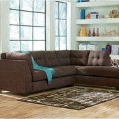 Benchcraft Maier RAF Corner Chaise and LAF Sofa Set