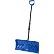 Snow Joe Edge 2-In-1 24 in. Poly Blade Snow Pusher and Ice Chopper