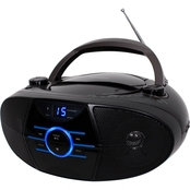 Jensen Portable Stereo CD Player with AM/FM Radio and Bluetooth
