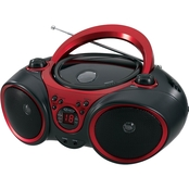Jensen Portable Stereo CD Player with AM/FM Stereo Radio