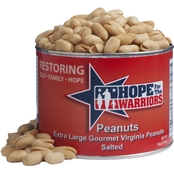 Feridies Hope For The Warriors 18 oz. Can Salted Peanuts