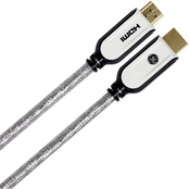 GE 3 ft. Pro Series High Speed HDMI with Ethernet Cable
