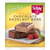 Schar Gluten Free Chocolate Hazelnut Bars, 3.7 oz. 4 pk.
