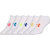 Under Armour Essential No Show Socks 6 Pk.